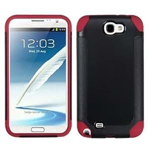 Bloutina MyBat SAMGNIIHPCFSSO603NP Hybrid Fusion Protective Case for Samsung Galaxy Note 2 - 1 Pack - Retail Packaging...
