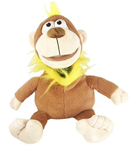 Mimic Mees Talk Back Zoo Interactive Plush Hand Puppet Toy Stuffed Animal Pet Monkey (Toy Puppet Stuffed)