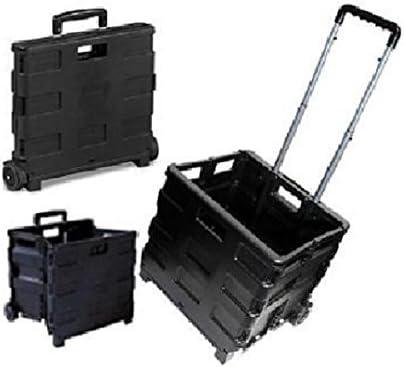 Nuevo 35 KG carrito de la compra plegable para botas de caja de caja de carro coche Van Camping: Amazon.es: Hogar