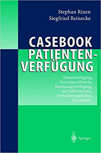 Casebook Patientenverfgung