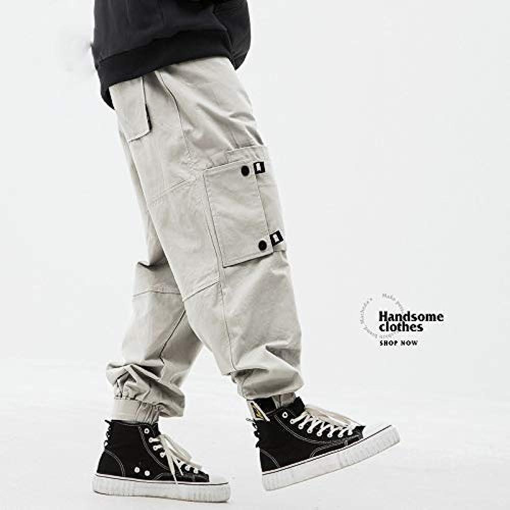 Men Japanese Streetwear Full Print Joggers 2019 Man Korean Fashion Cargo Pants