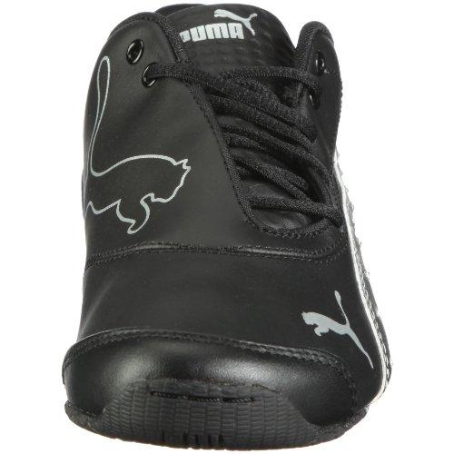 PUMA Drift Cat III L Diamond Fade Jr - Zapatillas deportivas para exterior de material sintético niña negro - Schwarz/black-silver metallic