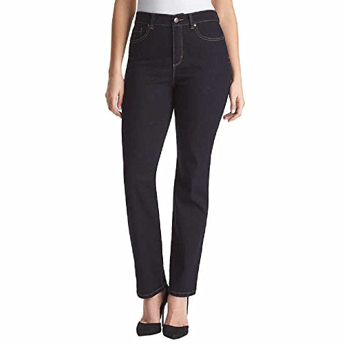 Womens Classic Blue Jeans - Gloria Vanderbilt Ladies' Amanda Stretch Denim Tapered Leg Jean Sizes 4-18 Average Length - 31