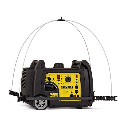 Champion 100603 Portable Generator Cover, Yellow by Champion (Image #4)