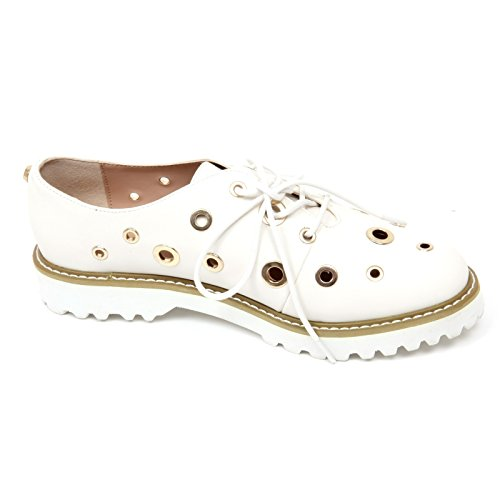 Oro Bianco Scarpe C6868 Shoe Scarpa Gaudi Donna Woman Forata Bianco nOxBWYSY
