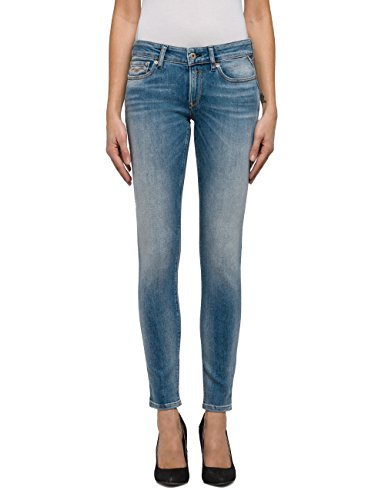 Donna Luz Replay Denim Jeans Blue Blu Skinny 10 light WtWd4vS