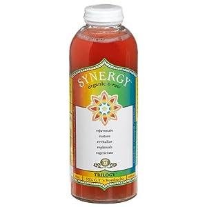 GT's Organic Kombucha, Synergy-Trilogy, 16 oz | AmazonFresh