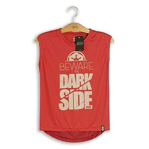 Camiseta Feminina Fitness Star Wars Beware The Dark Side