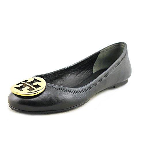 Tory Burch Reva Womens Leather Flats Shoes - 2