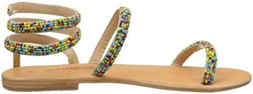 Les Tropéziennes par M. Belarbi Olga, Sandalias con Correa de Tobillo Para Mujer Multicolor