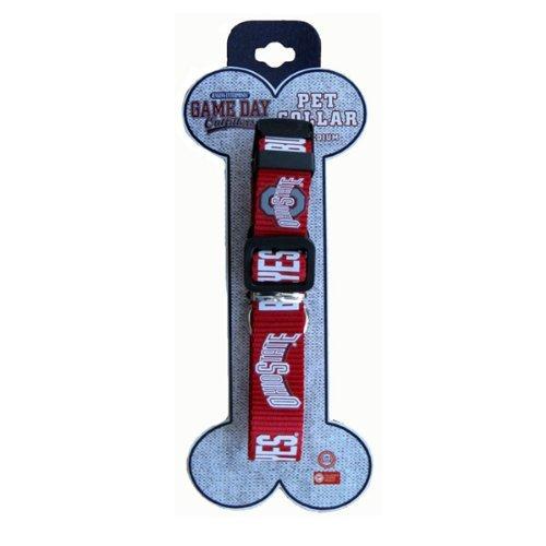 Ohio State Buckeyes Team Logo Dog Collar