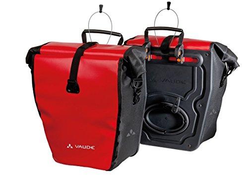 Vaude Radtasche Aqua Back, red/black, 37 x 33 x 19 cm, 48 Liter, 10917