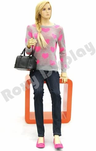 arms and Legs. ROXYDISPLAY Female Mannequin Flexible Head MD-Z-FFXF