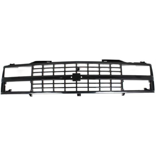 (Perfect Fit Group 5781 - C/ K Full Size Pickup Grille, Ptd-Black, W/ Dual Sealed Beam And Composite Headlights)