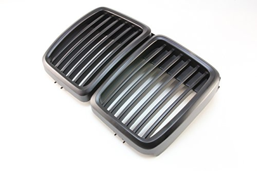 B2 BW-GL01B 83-91 BMW E30 Front Grille 3 Series Front Hood Kidney Grille Grill M3 Black