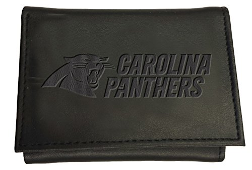 Team Sports America Carolina Panthers Tri-Fold - Leather Panther