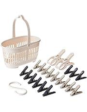 Citylife J-8244 Hanging Pegs Basket Bundle, 220x115x125mm, Mix