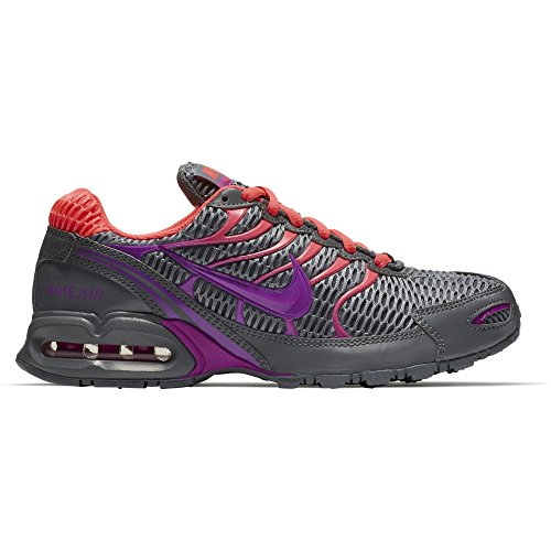 (NIKE Women's Air Max Torch 4 Running Shoes (10 B(M), Cool Grey/Hyper Violet/Hyper Punch))