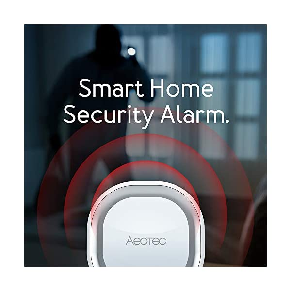 Aeotec Z-Wave Siren 6, Altoparlante di Sicurezza e Sicurezza con Z-Wave Plus S2, Allarme Anti-intrusione a Parete e luce… 2 spesavip
