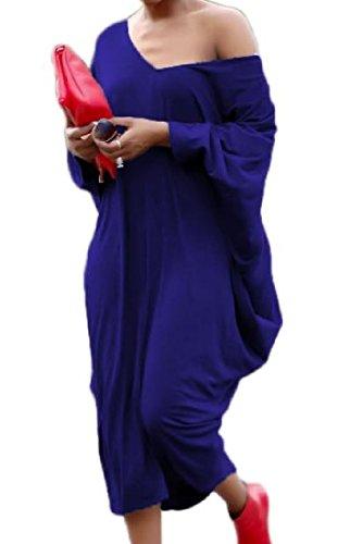 A Pipistrello Larghi Hip Abiti Pullover Delle Outwear Hop Comodi Manica As1 Donne qnHftH