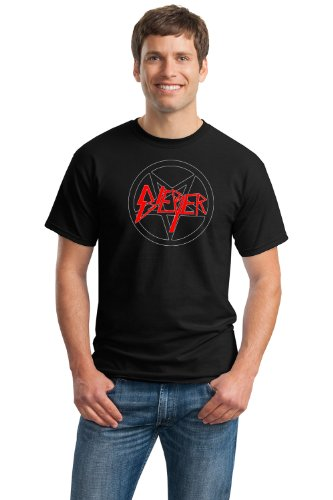 BIEBER SLAYER METAL HUMOR Unisex T-shirt / Rock and Roll Death Metal Funny Tee