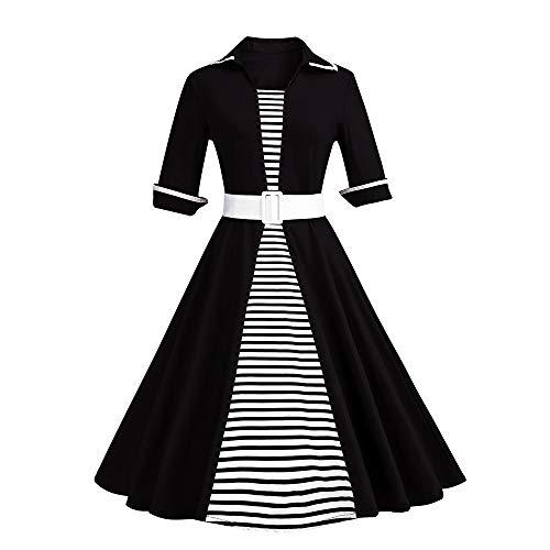 Ladies Woods Watch Tiger (kaifongfu Women Plus Szie Dress Lace Cat Printing Swing Dress for Evening Party(Black,3XL))