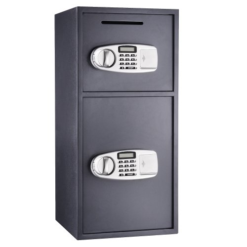 24. Paragon 7900 Double Door Digital Depository 3.16 CF Lock and Safe Cash Drop Security