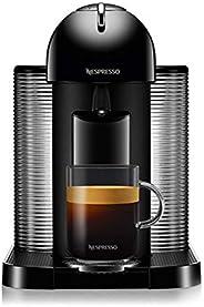 NESPRESSO Cafetera Vertuo, color negra (Incluye obsequio de 12 cápsulas de café)