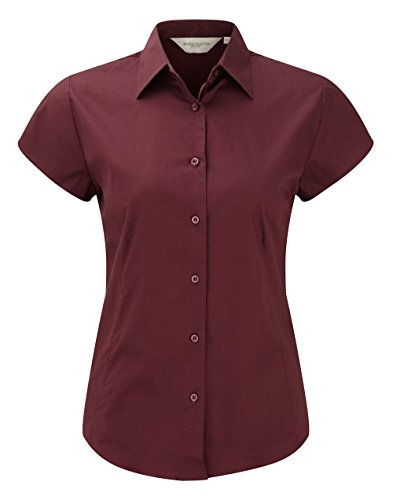 Russell Collection - Camisas - Manga corta - para mujer Red - Port