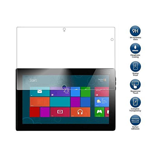 Feicuan 9H Premium Tempered Glass Screen Protector for Lenovo ThinkPad Tablet 2 10.1inch by Feicuan