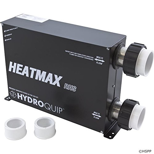 Heater, HQ HeatMax RHS, 230v, 5.5kW, Weather Tight by Hydro Quip