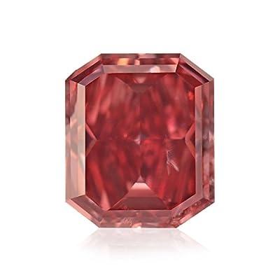 0.38 Carat Argyle Fancy Red Loose Diamond Natural Color Radiant Cut GIA Cert