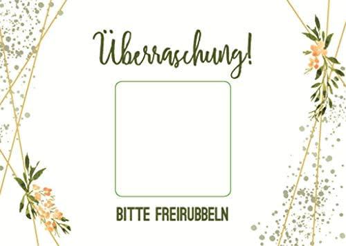 10 Überraschungskarten, Rubbelkarten