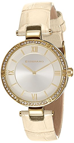 Giordano Analog Silver Dial Women's Watch – A2039-02