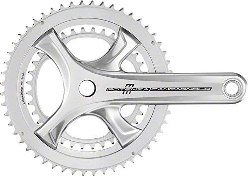 Campagnolo Potenza Crank 172.5mm, 50-34, Silver by Campagnolo