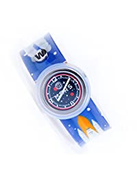 Watchitude Plunge Proof Slap Watch - Mission to Mars - Kids Watch for Boys & Girls