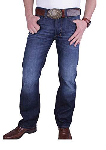 (Diesel Men's Larkee Regular Straight-Leg Jean 0073N, Denim, 28x34 )