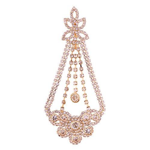 Accessher Elegant Gold Plated paasa/Hair Jewellery for Women and Girls (B07CCZQDPC) Amazon Price History, Amazon Price Tracker