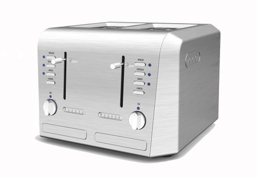 De'Longhi CTH4003 4-Slice Toaster (Delonghi Digital Toaster Oven compare prices)