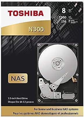 Toshiba N300 - Disco duro interno de 8 TB (SATA 6 GB/s, 7200rpm ...