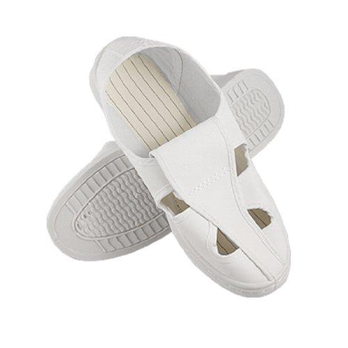 Pantalones de deporte para mujer blanco buytra suela anti-estático alicates de precisión para trabajo sala limpia zapatos US 7
