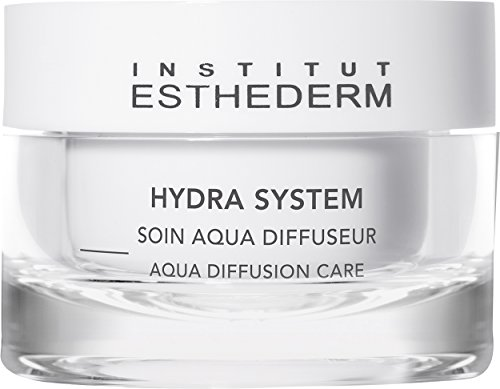 Esthederm Aqua Diffusion Care Cream, high hydration power treatment specially designed for dehydrated skin- 1.67oz