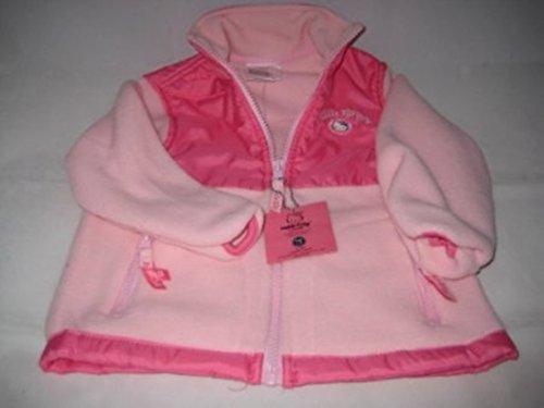 Hello Kitty Infants Girl Fleece Jacket 2T Pink/Light Pink New - Pink Jordan Jacket