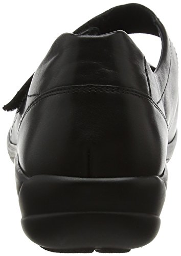 Semler Birgit Ladies Mary Jane Low Shoes Nero (nero)