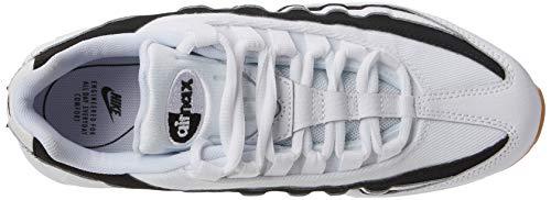 De Silver 001 Multicolore Air Nike Homme Chaussures Max Course 95 black metallic white 7IPBOPq