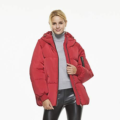 Cotton Winter Down Giacca Service Red Tuta Donna Da New Imitation Gaigai Bagno gq8F77