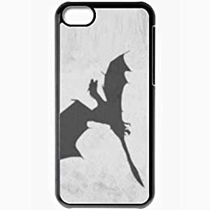 diy phone casePersonalized iphone 5/5s Cell phone Case/Cover Skin Game of Thrones dragon TV Series Blackdiy phone case