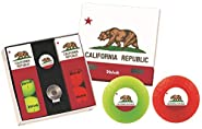 Volvik Vivid Golf Balls State Edition Gift Packs - 6 Balls Ball Marker & Magnetic Hat Clip
