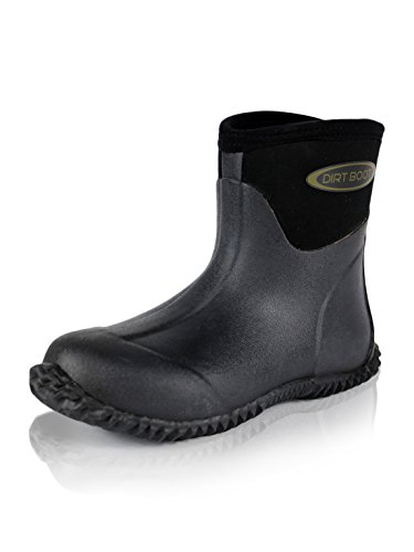 Bootie DIRT Ankle Wellington BOOT® Garden Neoprene Wellies Field Stable Yard Black Boots Muck ArFqAnvwHZ