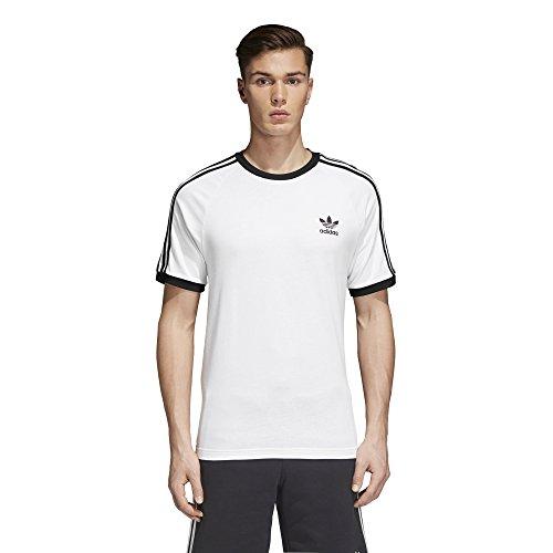 adidas Originals Men's Originals 3 Stripes Tee,  White, X-Large ()